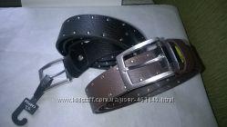 Качественные кожаные мужские ремни торговой марки CARPISA. Италия. Недорого