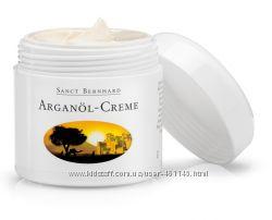 Органический увлажняющий крем для лица, шеи с маслом Арганы-100мл. Германия