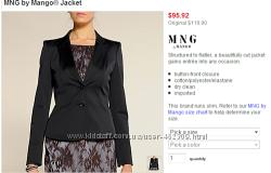 Стильный пиджак MNG. манго,