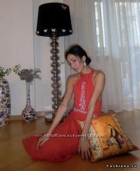 Шёлковое платье Karen Millen, ручная вышивка