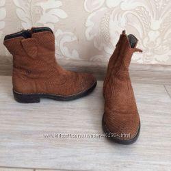 Naturino Италия дизайнерские ботинки сапоги кожаные рептилия питон 30