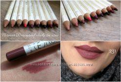Водостойкие карандаши для губ от Флормар FlorMar