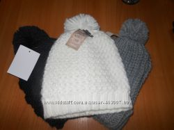 Зимние шапки с помпонами, распродажа, большой выбор