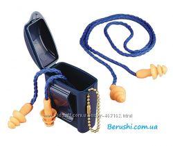 Многоразовые беруши 3M 1271 со шнурком и кейсом.