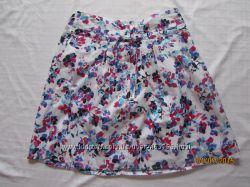 яркая летняя фирменная юбка, размер 36