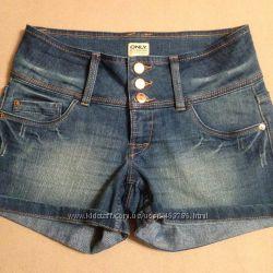 женские джинсовые шортики, размер 27