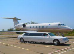 Трансфер, VIP-поездки, такси по Крыму  Лимузин, Мерседес, Крайслер