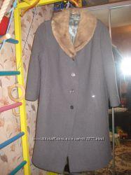 Продам женское драповое пальто р. 54-56 бу Донецк