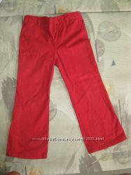 джинсы красные на девочку 3, 5-4, 5 лет