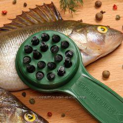 Профессиональная рыбочистка и ножницы LuxFish Чистим рыбу с удовольствием
