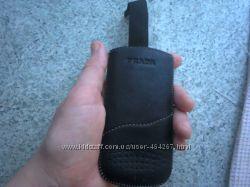 кожаный чехол на телефон
