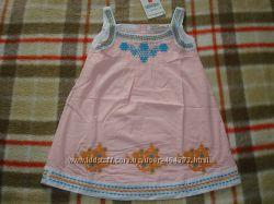 Сарафаны ZARA для девочек , арт.  9801, розовый, от 2 до 10 лет