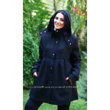 Осеннее пальто для беременной Mama Stile в подарок бандаж