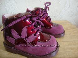 Продам демисезонные ботиночки PAT ET RIPATON р. 18 новые