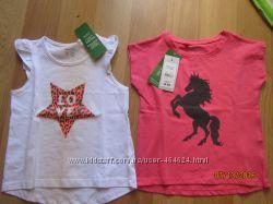 Суперовые футболки C&A и CHILDRENS PLACE для ваших принцесс