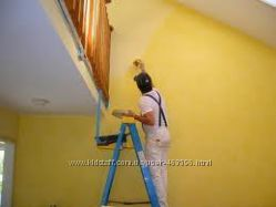 Покраска стен недорого. Киев