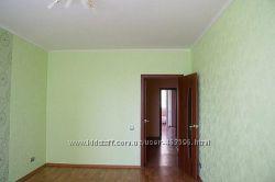 Поклейка обоев, покраска стен, ремонт квартир.