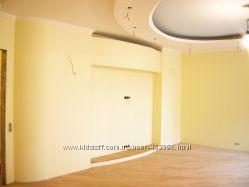 Покраска стен, потолков в квартирах, офисах в Киеве.