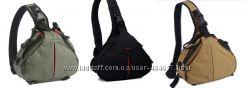 Оригинальный треугольный фоторюкзак-сумка, слинг
