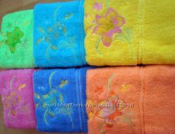 Махровые полотенца 90х50
