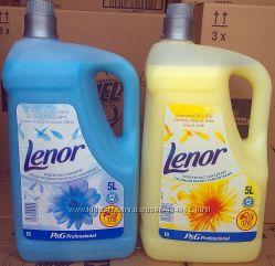 Lenor - концентрат кондиционер-ополаскиватель для белья - 5 л.