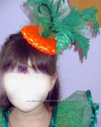 Головной убор морковка, яблоко , тыква, помидор