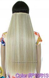 Термо волосы, трессы на заколках, матовые высокого качества.