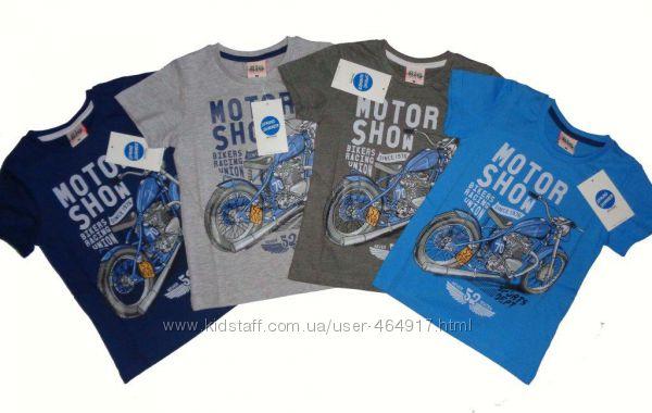 Детские футболки р. 98-104-110 Glo-Story
