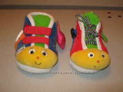 Игрушка шнуровка детская Развивающие ботинки Ks Kids