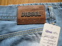 Мужские джинсы DIESEL голубые, плотные, р. 29, 31, 32, 33, 34