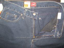 Мужские джинсы LEE тёмно синие, плотные р. 32, 38