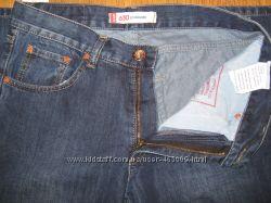 Мужские джинсы Levis синие плотные, р. 31, 32, 33, 34