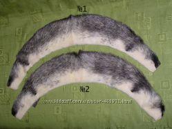 Воротник натуральная норка и ворот-хвост лисы