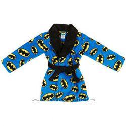 Флисовые халаты Batman. Star wars. Komar kids для мальчиков 3-6 лет