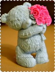 Мыло ручной работы мишка Тедди