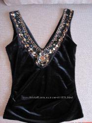 Нарядная бархатная блузка , 46-48 р. Турция, Airport