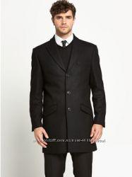 Дизайнерское пальто Taylor & Reece шерсть Англия