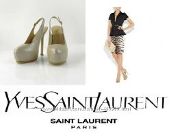 Новые Туфли YSL  Yves Saint Laurent Размер 39-40 натуральная кожа