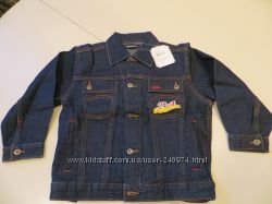 джинсовая куртка для мальчика 100 хб
