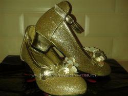 золотистые туфельки Accessorize размер 7