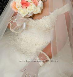 Свадебное платье весільна сукня 52 - 56 р