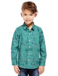Реглани та сорочки для хлопчиків- Спенсер- Англія