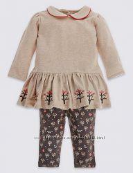 Гарненькі  футболки та комплекти для дівчинки - George, HM - Англія
