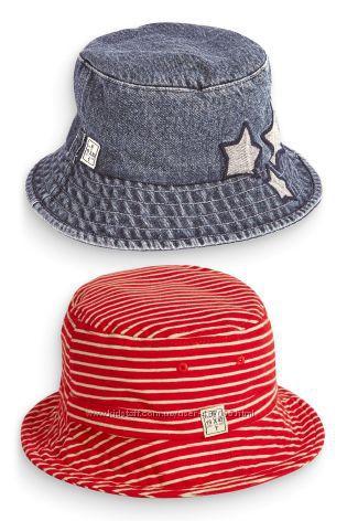 Демисезонні шапки та літні панамки для хлопчиків - Next, HM