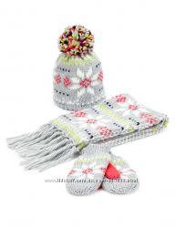 Теплий зимовий комплект для дівчинки 6-18місяців - фірма MARKS&SPENCER