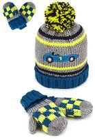 Комплект шапка з рукавичками для хлопчика, MARKS&SPENCER