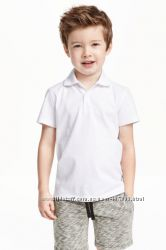 Футболки поло для хлопчика фірми  H&M - organic coton, 8-10 років
