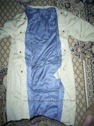Пальто демисезонне пісочного кольору