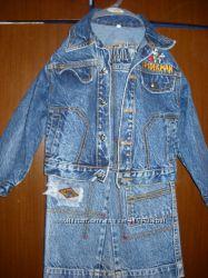 Продам джинсовый костюм для мальчика , р. 92
