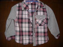 Продам детскую рубашку для мальчика , р. 86
